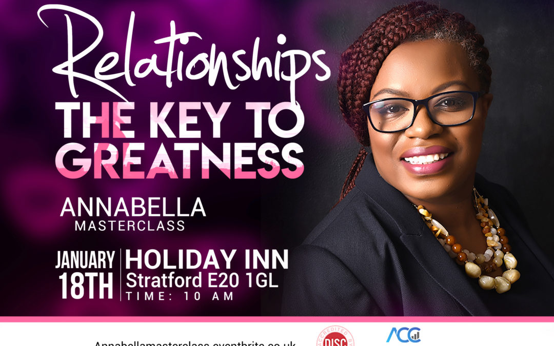 Relationships – The key to success